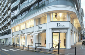 Dior store a Cannes