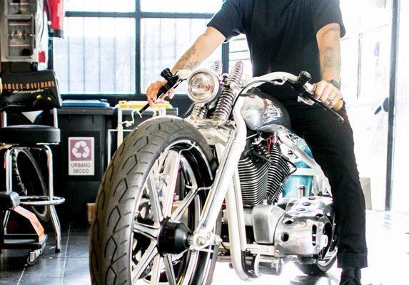 Harley and Davidsons