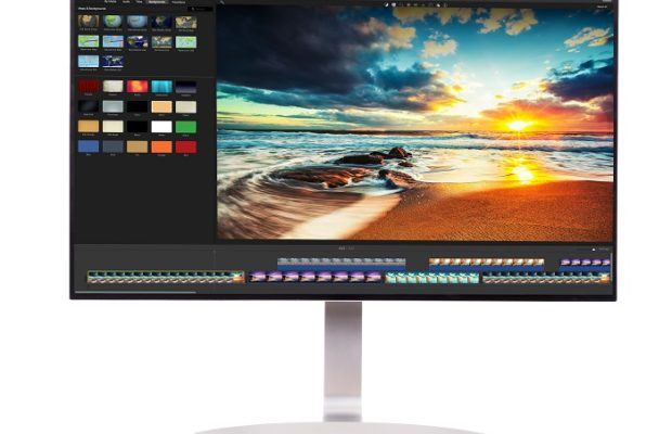 Monitor 4K HDR di LG