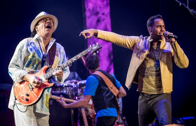 Santana - Corazòn live from Messico