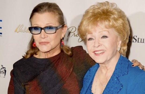 Carrie Fisher e Debbie Reynolds