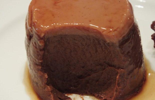 Creme caramel al cioccolato