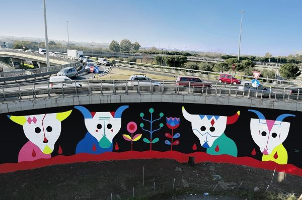 street art, raccordo anulare