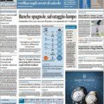 Prima pagina dell'8 giugno: i quotidiani economici di oggi