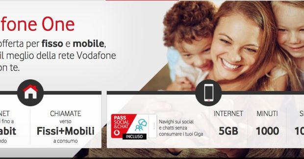 Vodafone One offerta